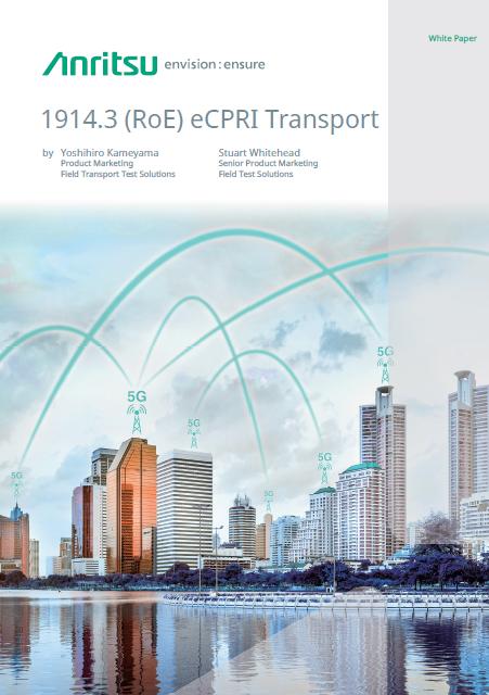 1914.3 (RoE) eCPRI Transport