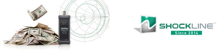 低価格 高性能な革新的ShockLine ベクトルネットワークアナライザ(VNA)で大きなコストメリット