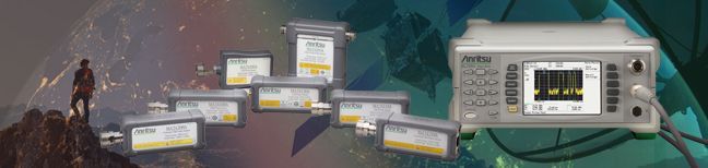 Anritsu Power Meters and Sensors Top Page Banner