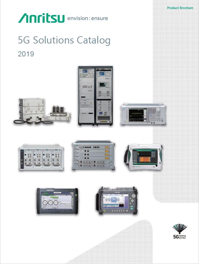 Anritsu 5G Solutions Catalog