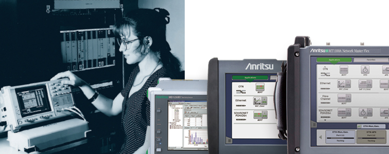 Anritsu History and Achievements: High-Speed (Broadband) Digital Communications Market