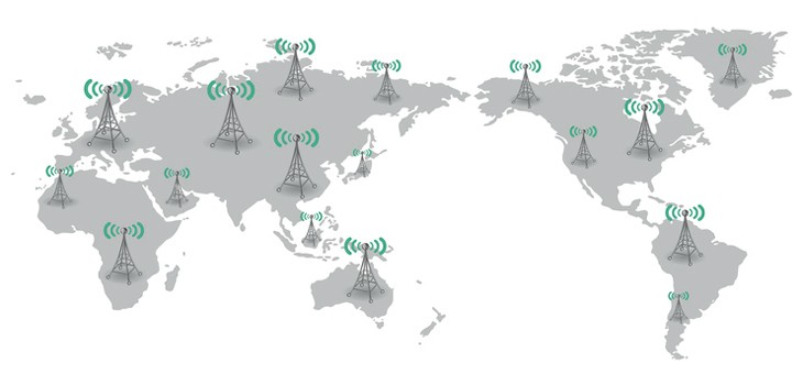 World 5G Communications Frequency Bands and Operation Modes