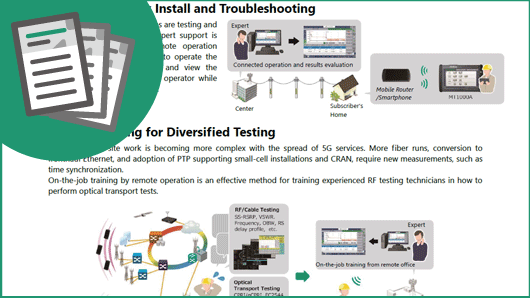 Leaflet: Easy Remote Instrument Control for Transport Network I&M Everywhere