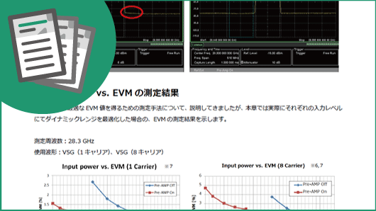 アプリケーションノート:より良いEVM値を得るためのダイナミックレンジ最適化手法