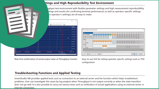 Leaflet: Configuring Efficient IP Throughput Test Environment for 5G Devices