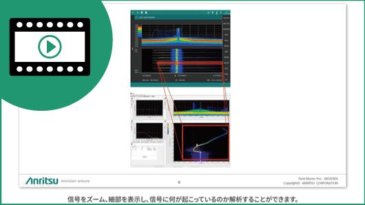 ビデオ:Bird Technologies社のSpectro-Xを使ったIQデータ解析(英語)