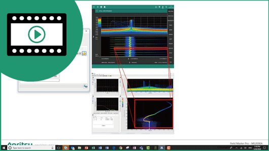 Video: Field Master Pro MS2090A IQ Data Analysis Using Spectro-X From Bird Technologies