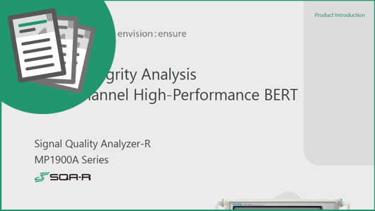 Signal Integrity Analysis Multi-channel High-Performance BERT