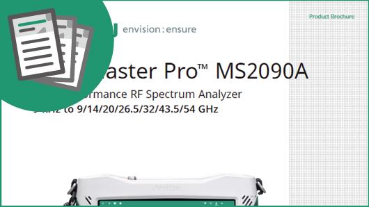 BROCHURE: Field Master Pro™ MS2090A