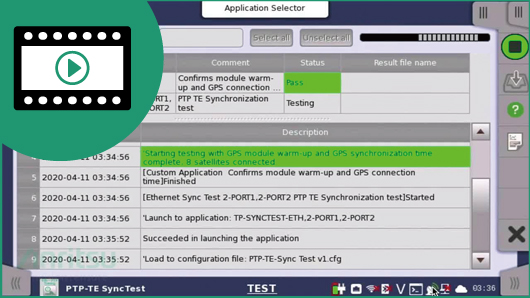 Video: MT1000A 5G Network Sync Field PTP Walkthrough