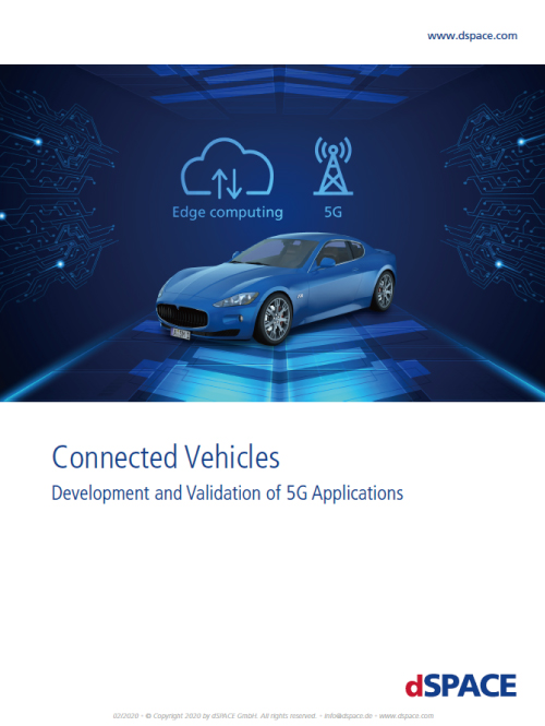 Connected Vehicles Development and Validation of 5G Application