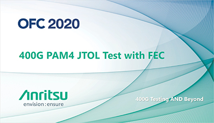 400G PAM4 JTOL Test with FEC