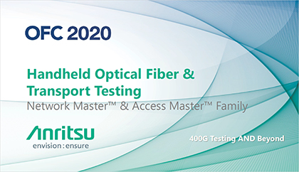 Handheld Optical Fiber & Transport Testing