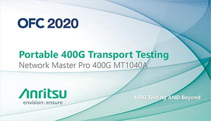 Portable 400G Transport Testing