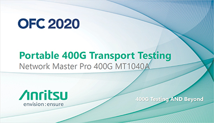 Portable 400G Transport Testing