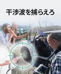 無線環境の監視と干渉波の探索